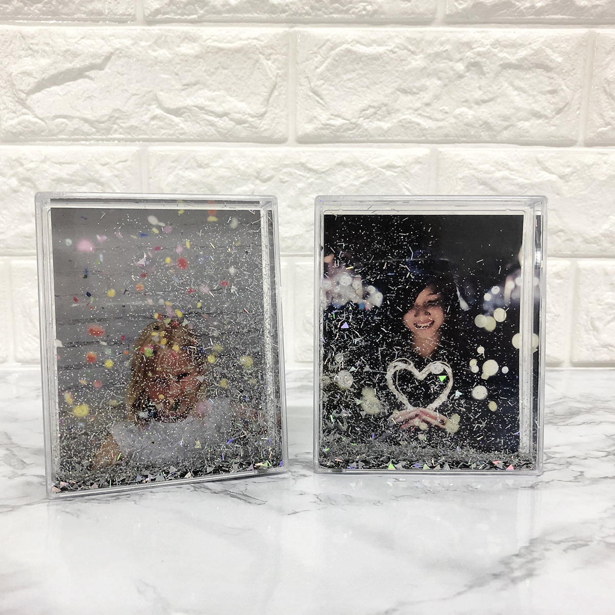 Preview of Floating Glitter Frame