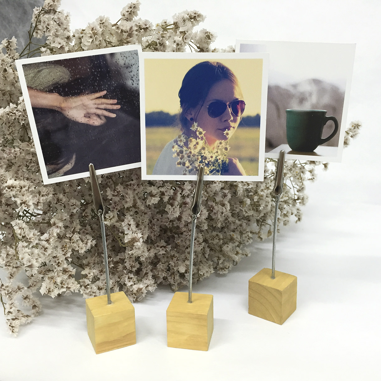 Preview of Photo Cube Clip Holder (Light Shade)