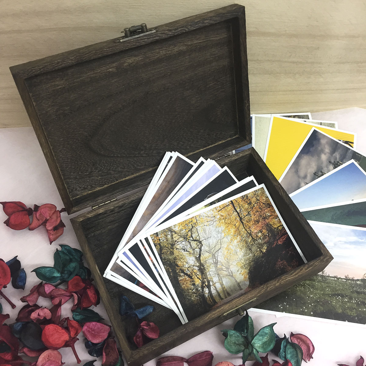 Preview of Timber Memory Box