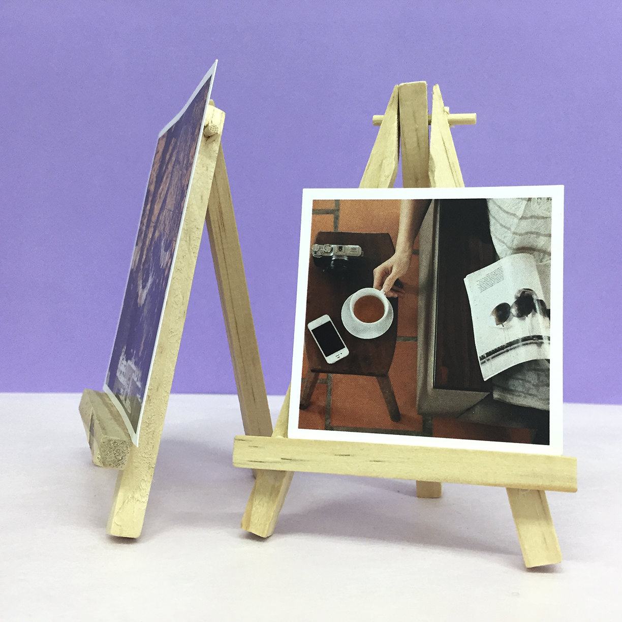 Preview of Photo Cube Clip Holder (Dark Shade)