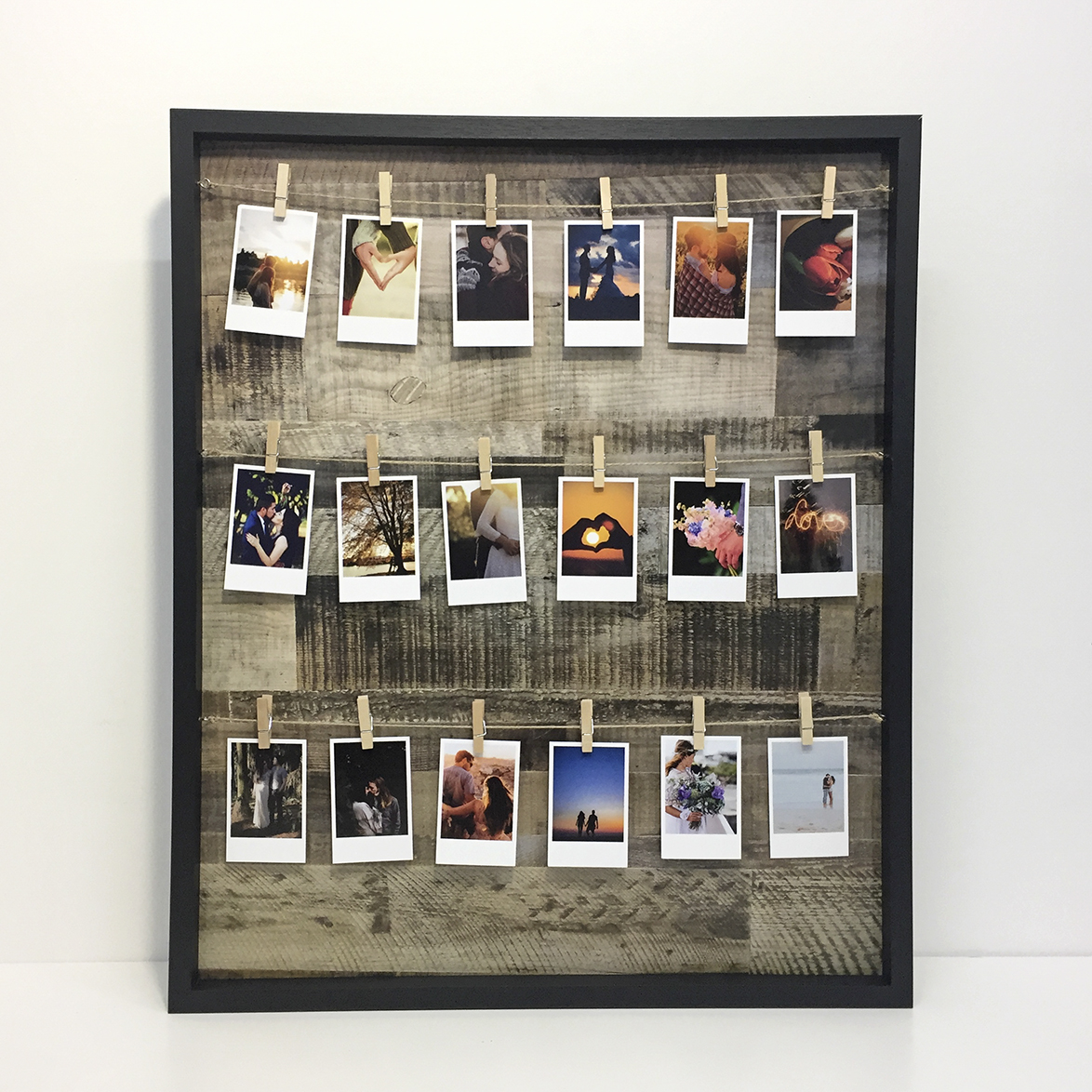 Preview of Photo Peg Frame (Black)