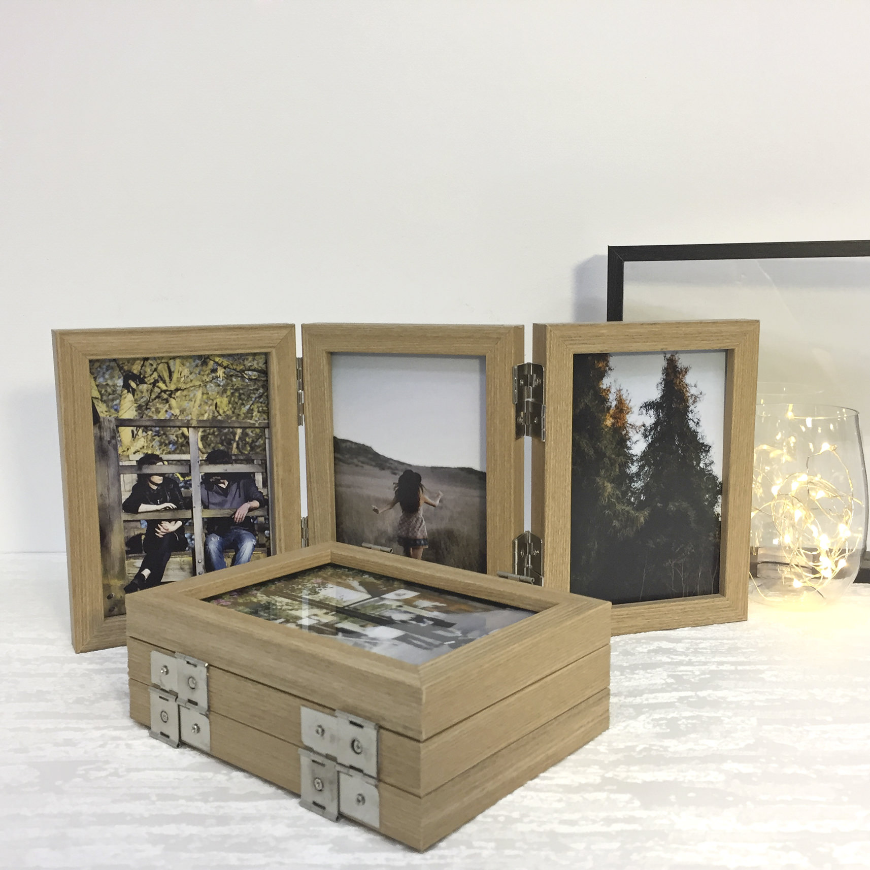 Preview of Tri-fold Photo Frame